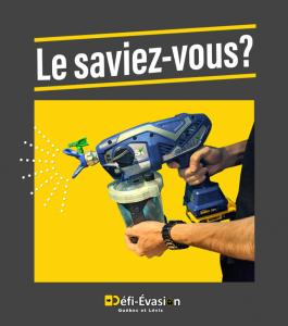 Publicité de désinfection chez Défi-Évasion